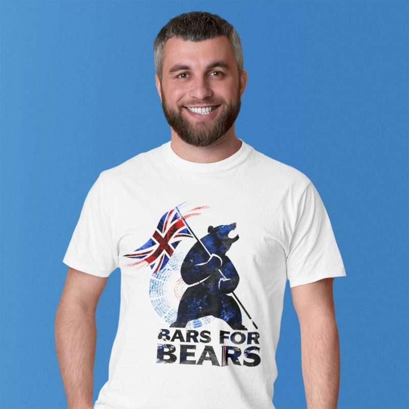Bars for Bears T-shirt Design 1